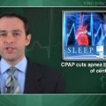 In central sleep apnea, CPAP cuts apnea but not arousals