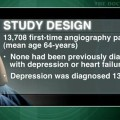 Depression after CAD diagnosis a risk factor for heart failure