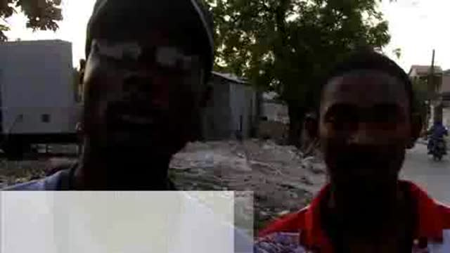 On The Ground in Haiti – Tents, Tarps & Tablets
