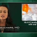 Hb A1C levels slightly lower with oral antiglycemics