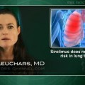 Sirolimus does not decrease rejection risk in lung transplantation