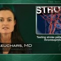 Testing for inherited thrombophilias in stroke patients not warranted