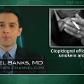 Smoking does not affect outcomes after early clopidogrel use