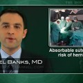 Short-term absorbable sutures not recommended for hernia repair