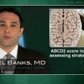 ABCD2 score not accurate enough to determine stroke risk after TIA