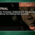Oral azithromycin superior to topical tetracycline after trichiasis surgery
