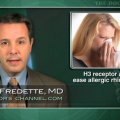 H3 receptor antagonist may help relieve allergic rhinitis symptoms