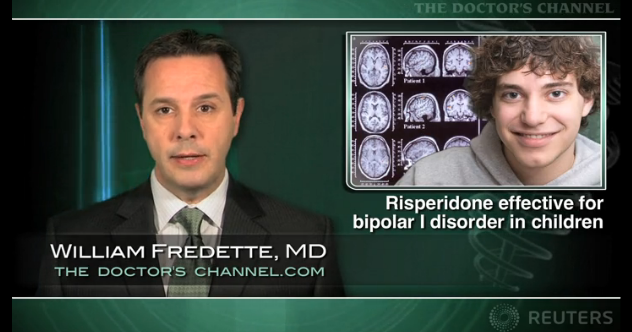 Risperidone effective for bipolar I disorder in children; side effects a concern