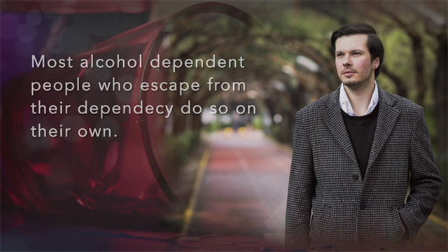 What Percentage of Patients Are Alcohol Dependent and What Can Be Done in These Instances?