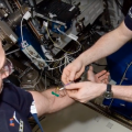 """NASA's """"Twins"""" Study Examines Influenza in Space"""