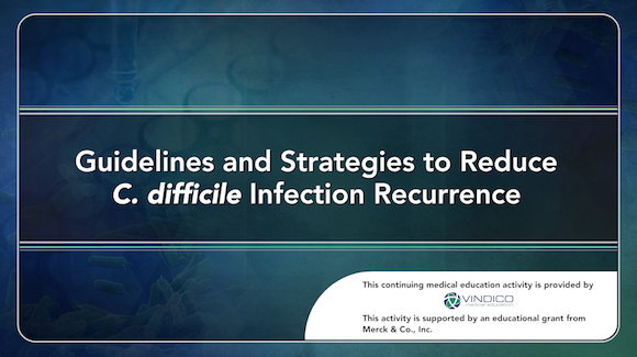 Guidelines and Strategies to Reduce C  difficile Infection