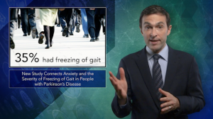 Anxiety May Worsen Freezing of Gait in Parkinson's Disease