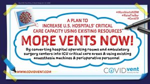 COVIDvent Develops Plan to Nearly Double US Ventilator Supply Overnight